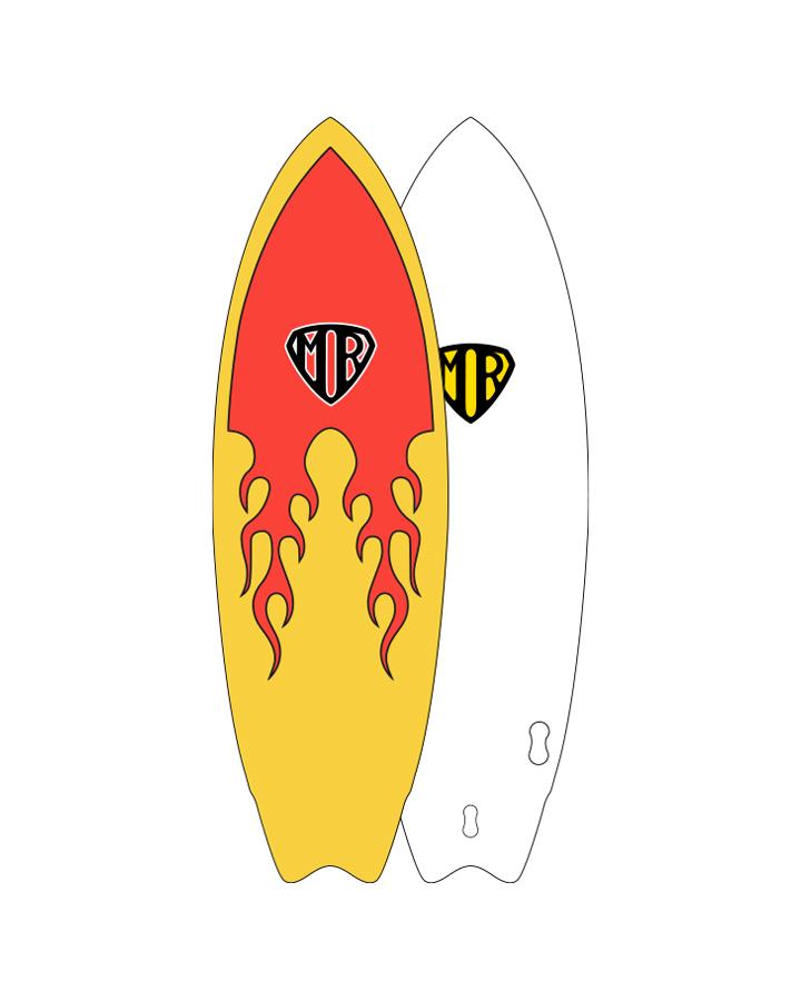 Ocean Eart MR Epoxy Soft flame Super Twin