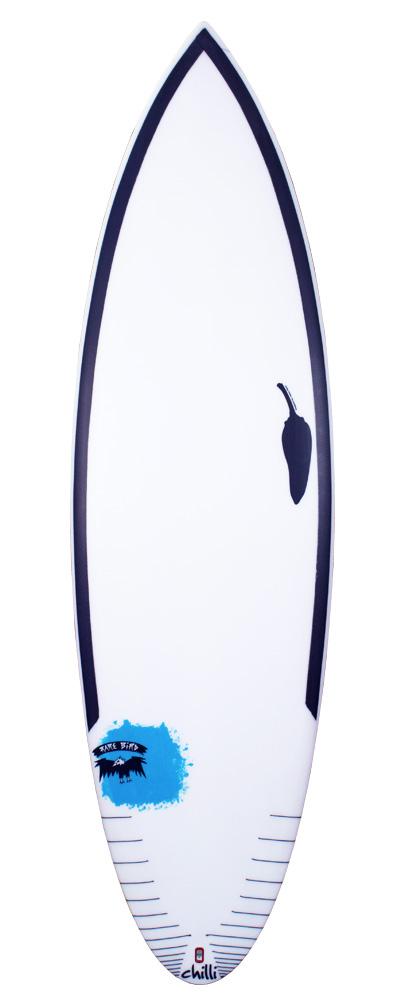 Chilli Surfboards Rare Bird 50/50 Front