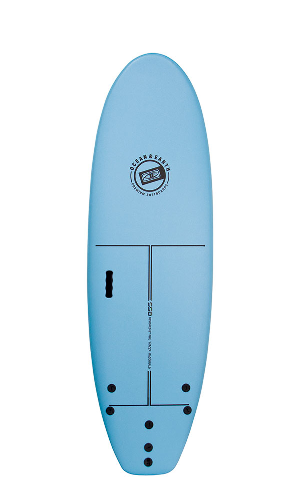 Ocean Earth 6'6 Surf School Softboard