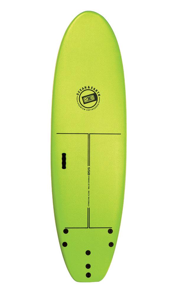 Ocean Earth 6'0 Surf School Softboard