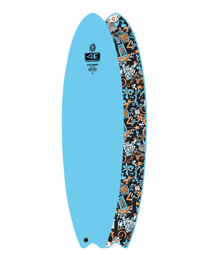Ocean Earth HIPPY SKULL EZI -RIDER 6'6
