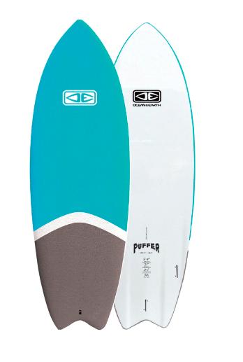 Ocean Earth 5'2 Fester Softboard