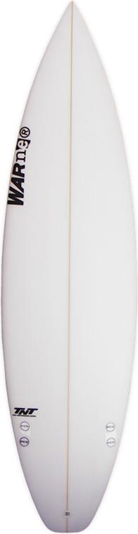 TNT warner surfboard