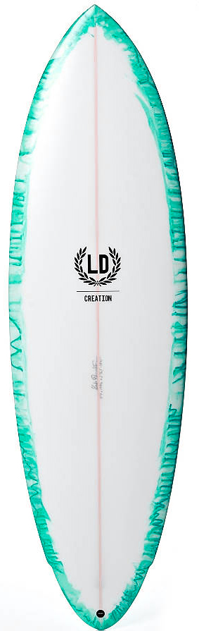The one 1 LD creation surfboard