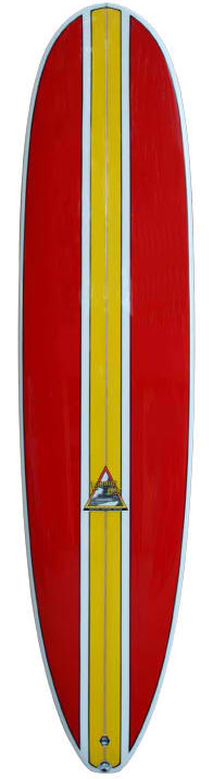 Laguna bay longboards 8ft red