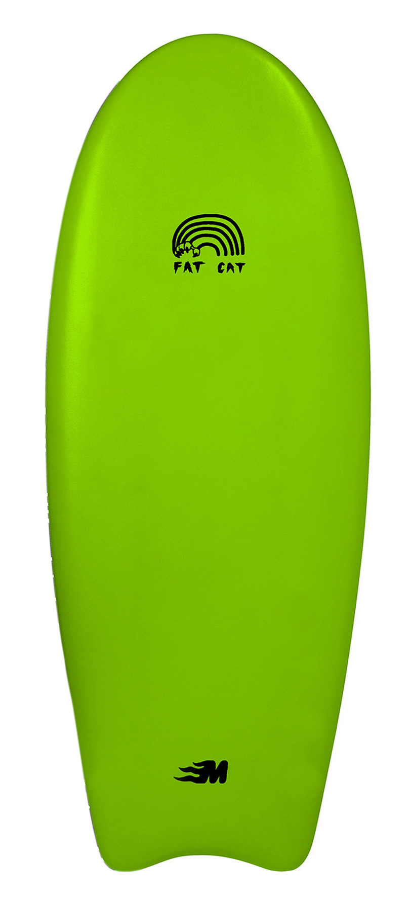 "Mullet 4'8"" Fat Cat Green"