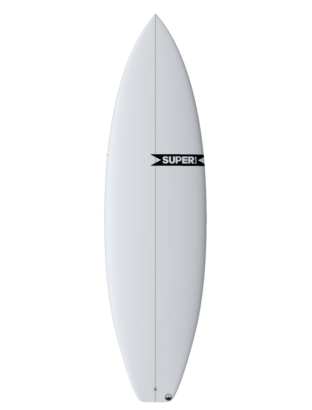 Super Clay Marzo Mad Cat Surfboard Front